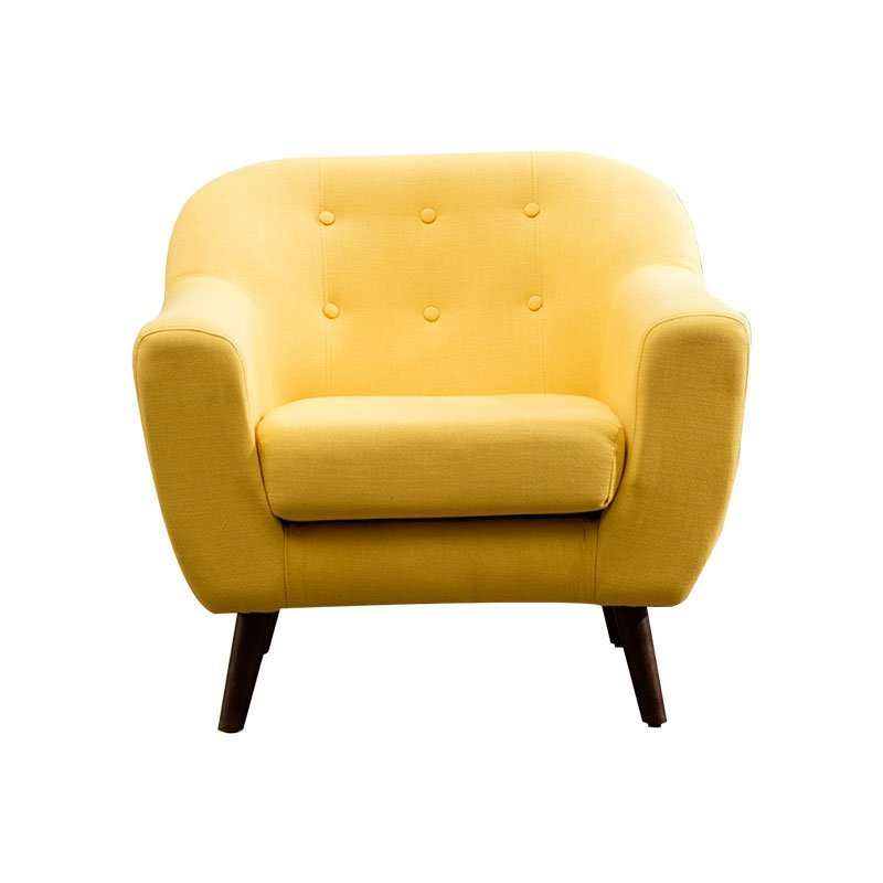 European style single sofa chair