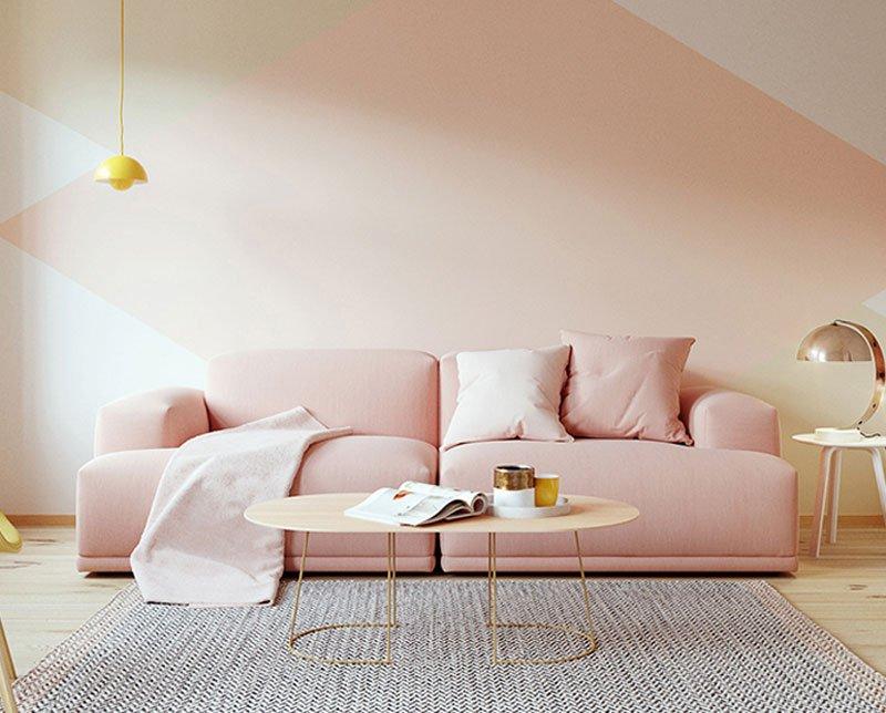 Large-sized apartment sofa a combination of modern style furniture designer sofa soft latex