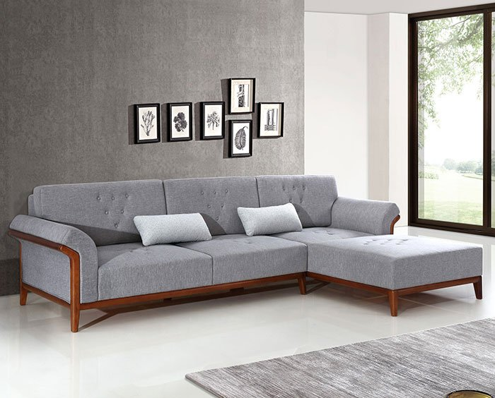 Modern large-sized apartment living room sofa latex